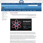 White House Science and Technology webpage