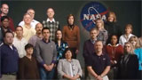 NASA group of people at Johnson Space Center